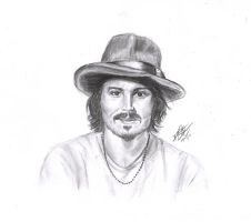 Johnny Depp by TealHeadlight