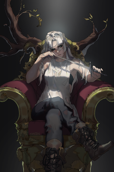 Throne - Piece for patreon by shilin