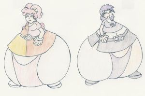 Ami Yumi Filled Up by DatArtistNuma