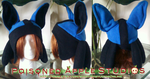 Lucario Fleece Hat by kuramachan