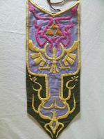 Legend of Zelda Embroidery Full Panel by Trikucian