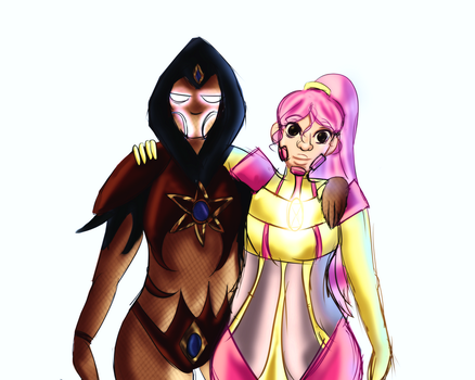 Pink And Black by LadyAlexiaLastHope