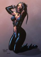 Blood Rayne colors by miguelangelh
