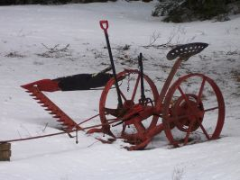 Lonely Plow by jerrinator