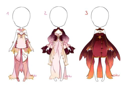 {Closed} Outfit adopt 41 - 42 - 43 by xMikuChuu