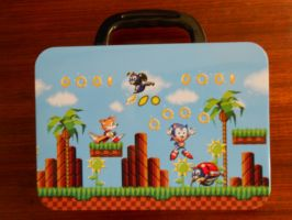 Sonic Green Hill Zone Metal Lunchbox (Picture 2) by BoomSonic514