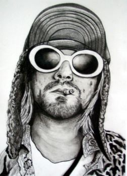 Kurt Cobain - You can leave your head on by Cathy86