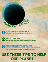 Going Green: Earth Day Poster by D-botiie