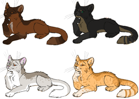 (FREE) Kitty Cat Adopts 5 CLOSED by JadedEmberWolf