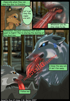 Raven valley wolf comic page 5 by Windshade888