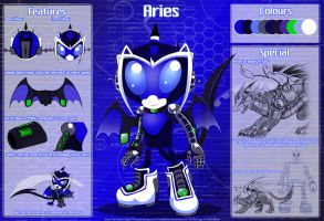 Aries The Robot Dragon Ref by StarEmber