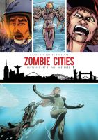 Zombie cities backdrop poster by paulabstruse