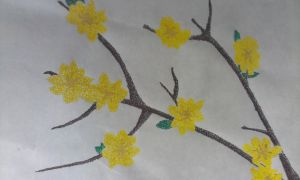 Stippling - Forsythia by Shaylynn14