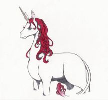 Lineria-Gwineere's Unicorn by IcefireenFriends