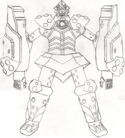 Big O Upgrade Armor by DBZ2010