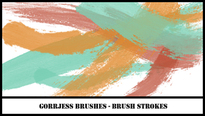 brushes - brush strokes by bahh