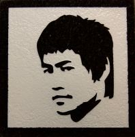 Bruce Lee - Coaster by ckatt01