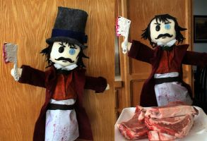Bill The Butcher is a Puppet by MichellePrebich