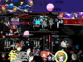 Kuroshitsuji (Book of Circus) Osu! Skin [ZIP] by Allen-WalkerDGrayMan