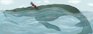 Whale Riding by GeoffryHawk
