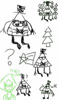 Gravity Falls Doodles by World-Detective-L