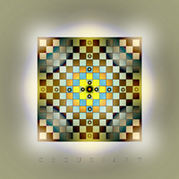 SQUARE art 1916 by oboudiart