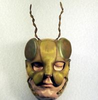 Grasshopper Mask by TomBanwell