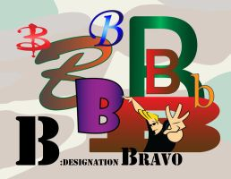Phonetic Alphabet - Bravo by omniferous
