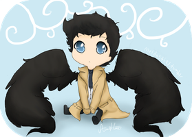 oh Cas bb by SkittleKitty123