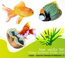 Free Vector Fish Icons by freeiconsweb
