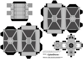 Cubee - TIE Fighter by CyberDrone