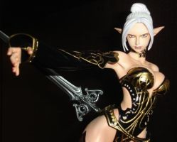 Dark Elf from Lineage II game. by TIGRAx4