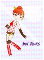Gijinka Ink Jink contest 2nd entry by untitled512