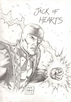 Jack of Hearts Commish by FlowComa