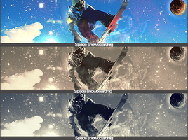 Space Snowboarding by SET07