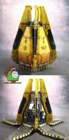 Imperial Fists Space Marine Drop Pod by HomeOfCadaver