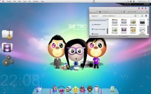 PinkMacLove for Windows 7 by tremillo