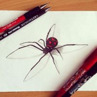 Black widow by Steve-Nice