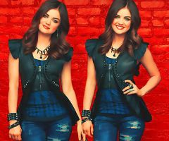 Lucy Hale Two by Sweet-Tizdale