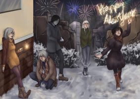 Happy New Year! by PandaNyu
