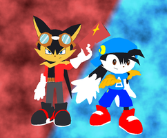 Klonoa and Guntz - Random Render by OrdoMandalore