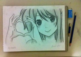 Lucy Heartfilia Drawing by NaLulu1