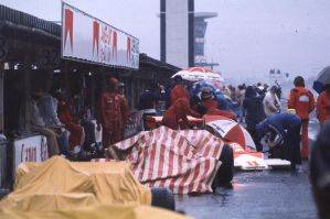 1976 Japanese Grand Prix Pitlane by F1-history