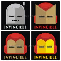 2013 Invincible Prints by HeadsUpStudios