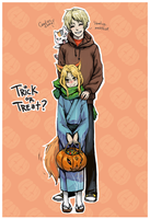 NY - trick or treat. by MadH