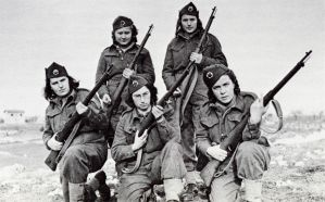 Yugoslavian female soldiers ww2 by UniformFan