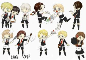 CAFE Hetalia by Hitashi-san