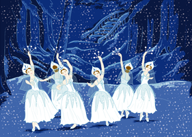 waltz of the snowflakes by LaFoi