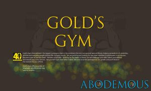 GOLD'S GYM by abodemous