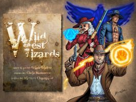 Wild West Wizards Cover by Taman88